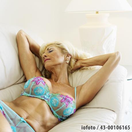 Seductive woman in underwear
