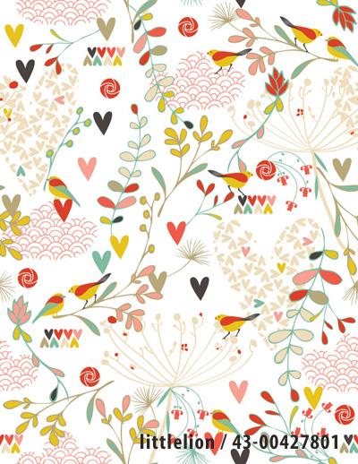 kimono pattern - littlelion